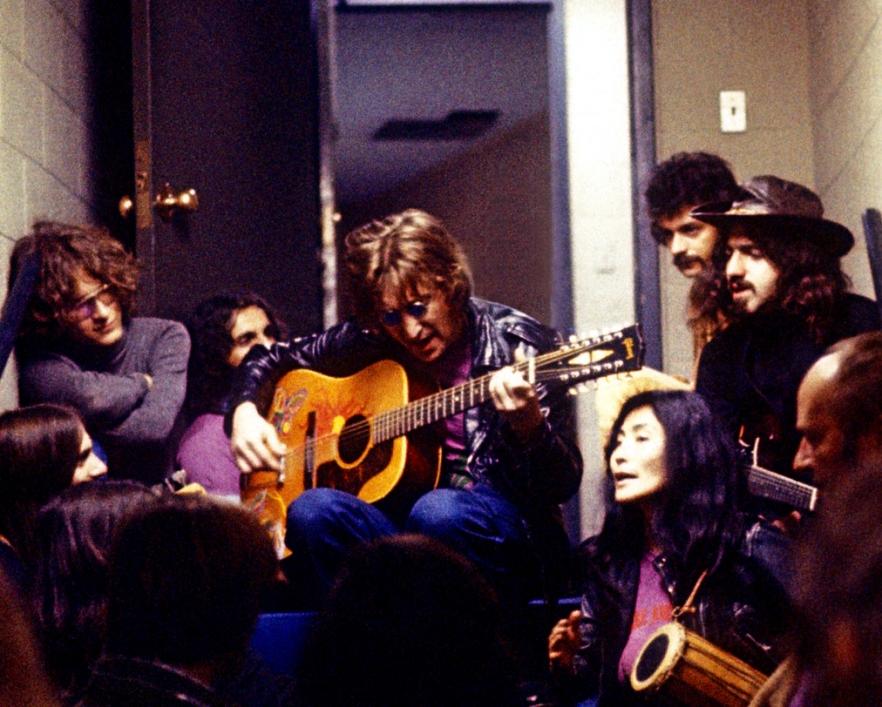 John Lennon and Yoko Ono File Photos - 1971