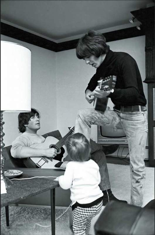 lennon at home
