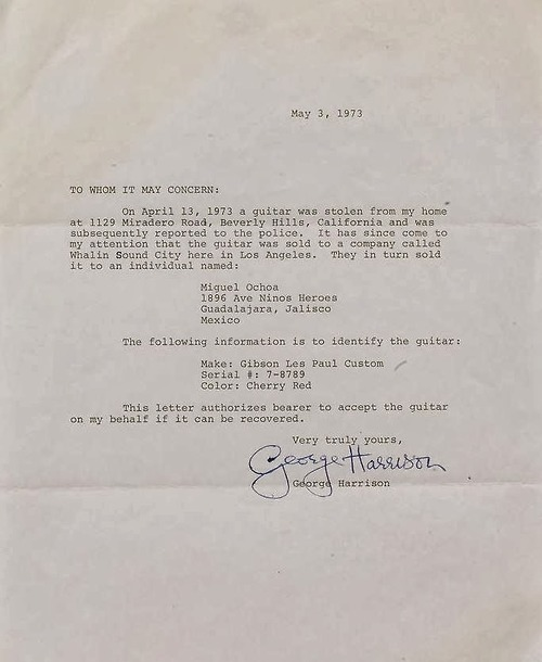 StolenLucy Letter