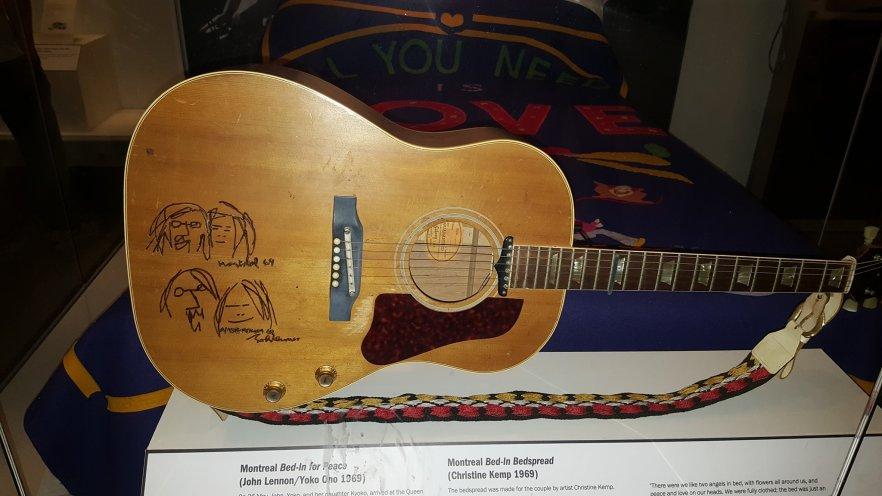 The Beatles and Beyond – John's Guitars – tilonlysilenceremains